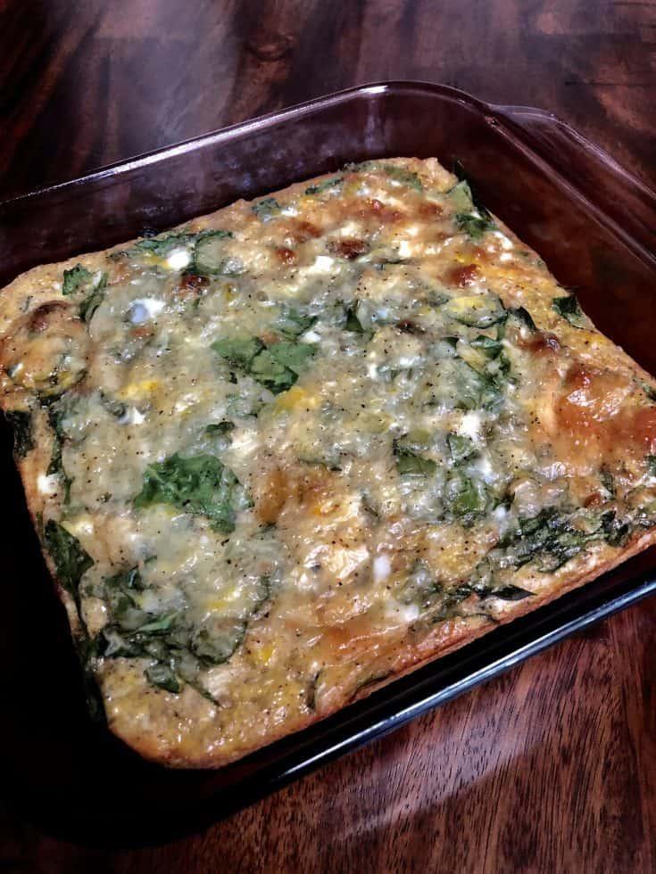 Breakfast Quinoa Egg Casserole