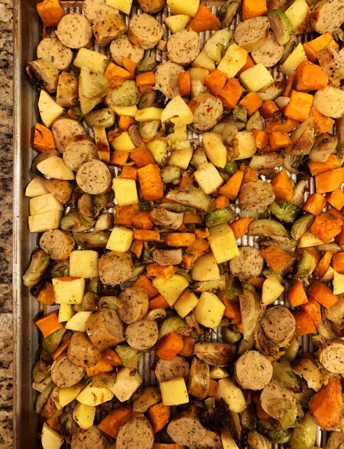 Sweet and Savory Sweet Potato Hash