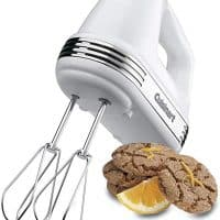 Cuisinart Power Advantage 5-Speed Hand Mixer, White