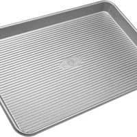 USA Pan Bakeware Half Sheet Pan, Warp Resistant Nonstick Baking Pan