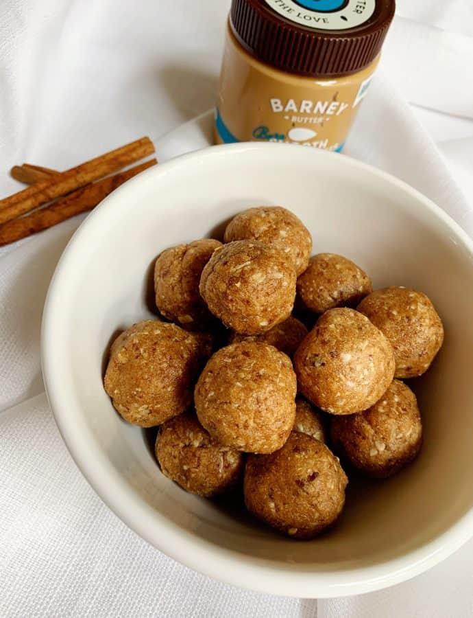 Cinnamon Toast Crunch Protein Bites