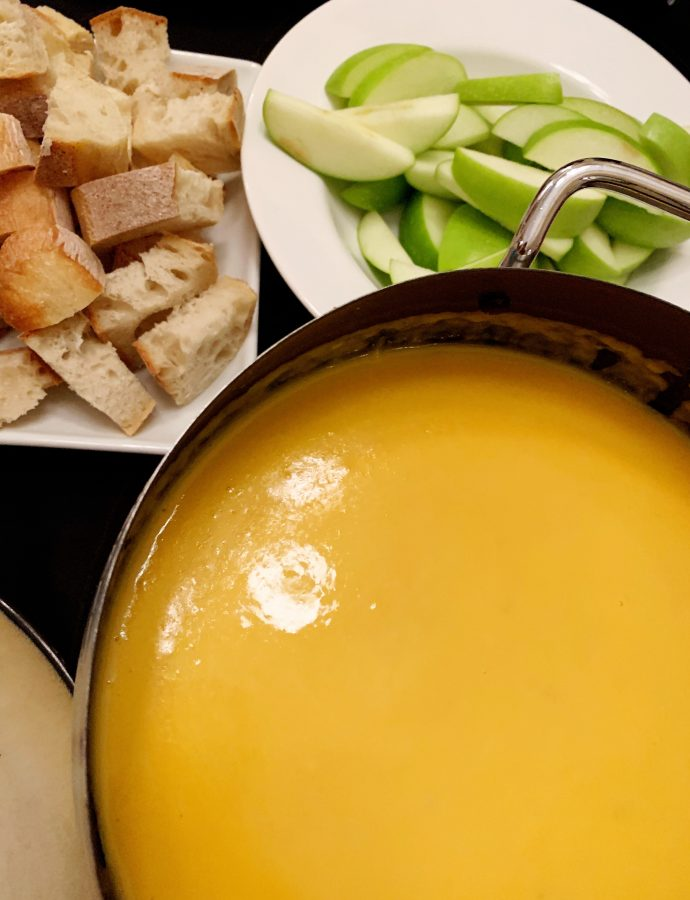 Easy Beer Cheese Fondue