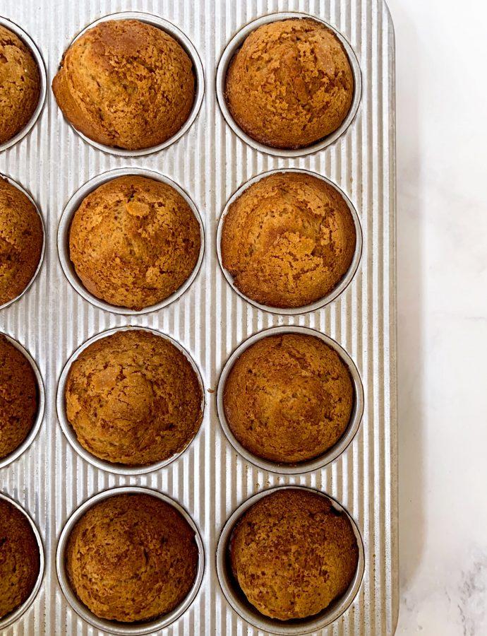 Peanut Butter Honey Muffins