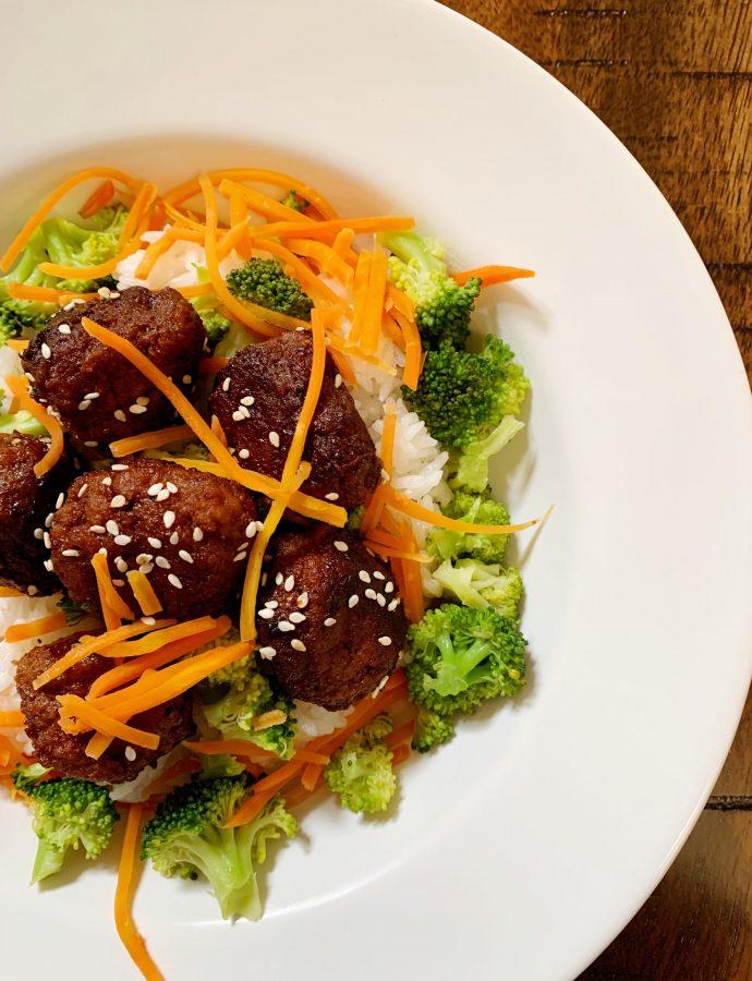 Turkey Bulgogi Meatballs