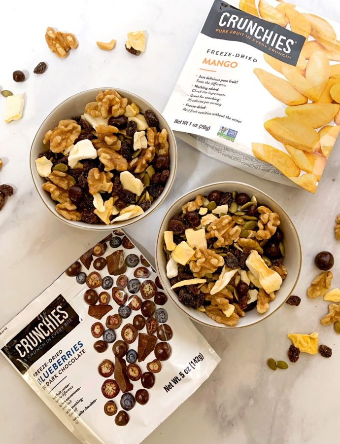 Easy Dried Fruit and Nut Trail Mix