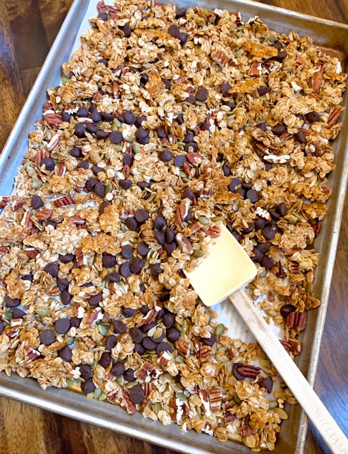 Pecan and Pumpkin Seed Granola
