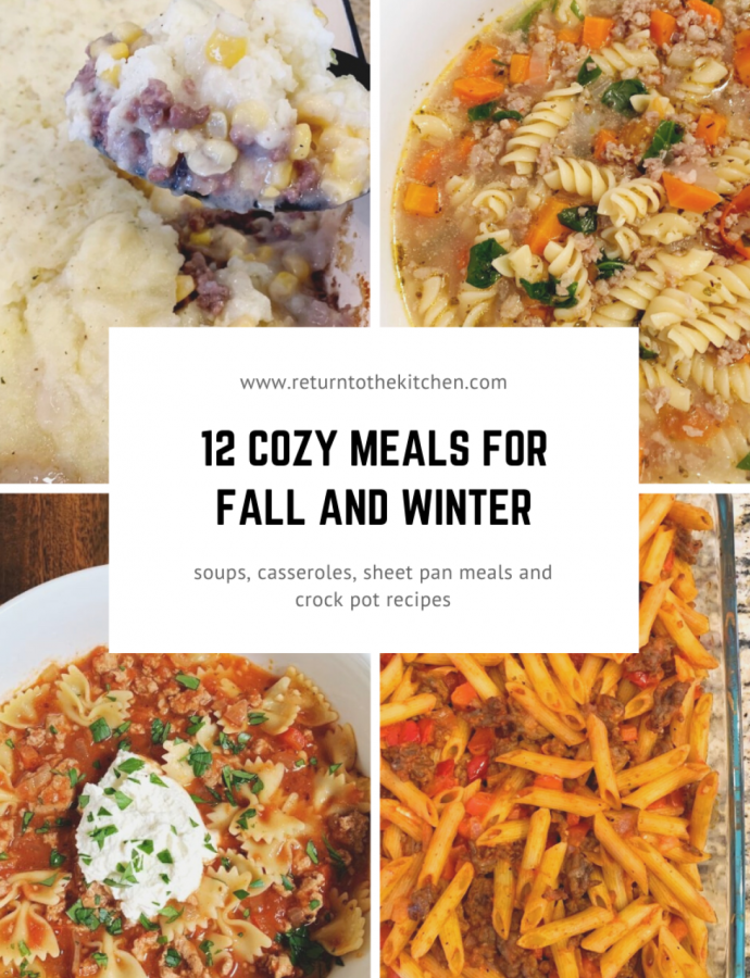 12 Cozy Meals for Fall and Winter