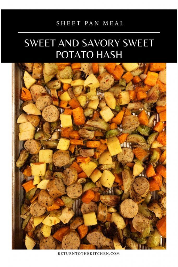 Sweet and Savory Sweet Potato Hash