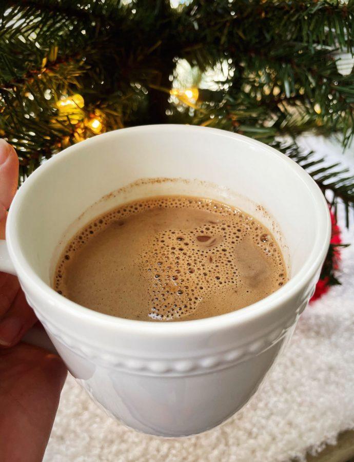 Homemade Vegan Salted Hot Chocolate