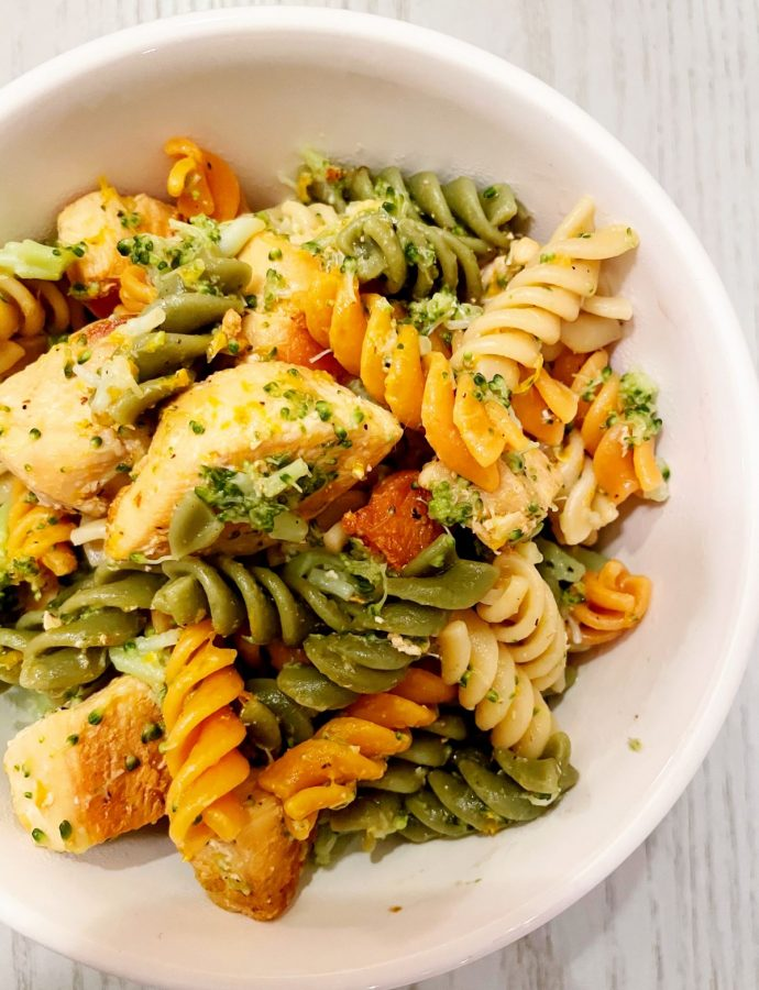 Kid Approved Citrus Chicken Pasta