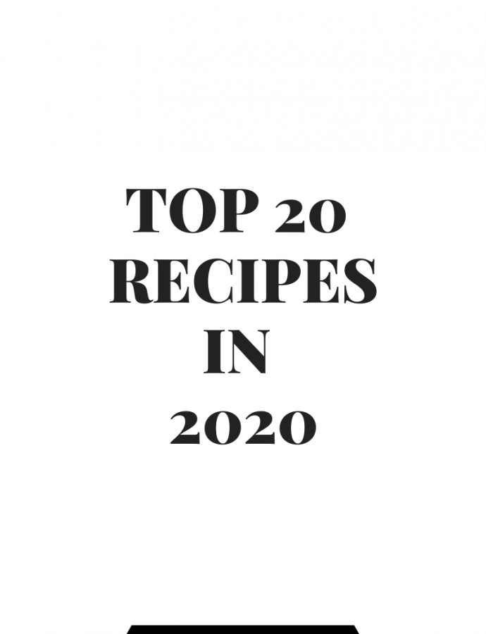 Top 20 Recipes in 2020