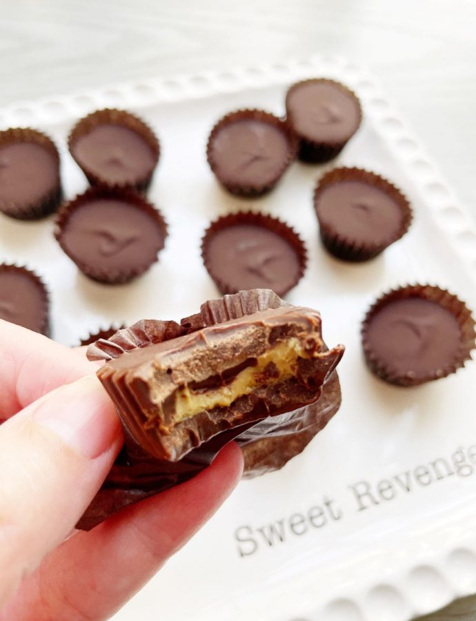 Chocolate Sunbutter Cups {vegan and nut-free}