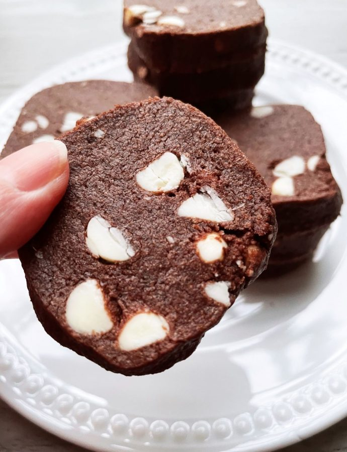 Double Chocolate Shortbread Cookies