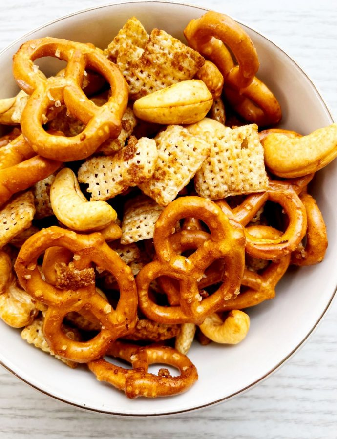 Small Batch 20 Minute Air Fryer Snack Mix