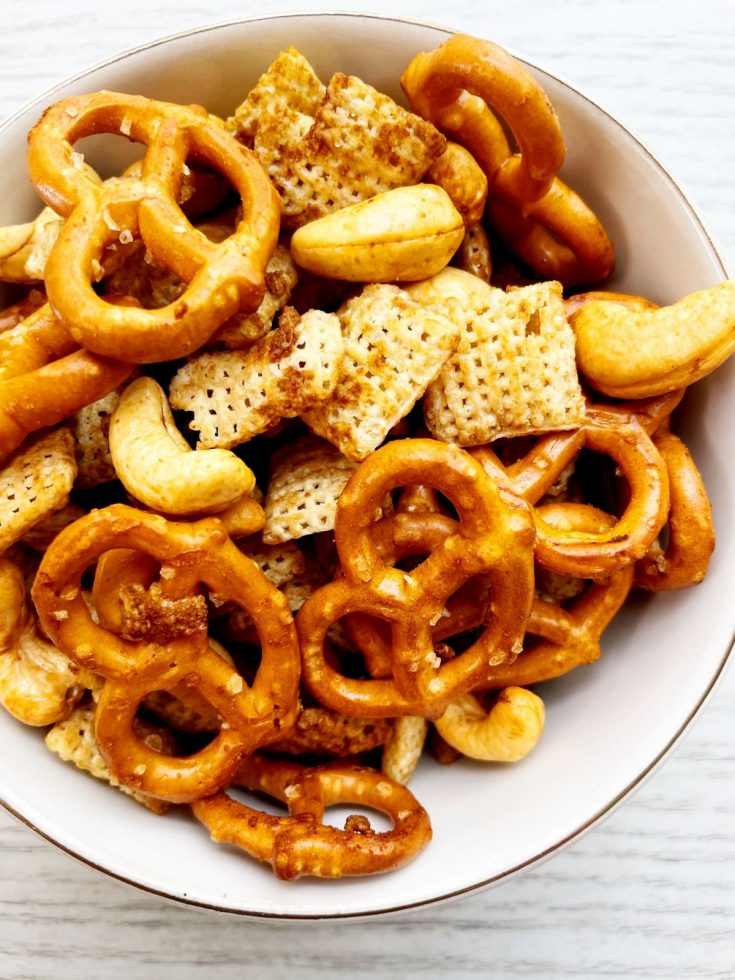 air fryer snack mix