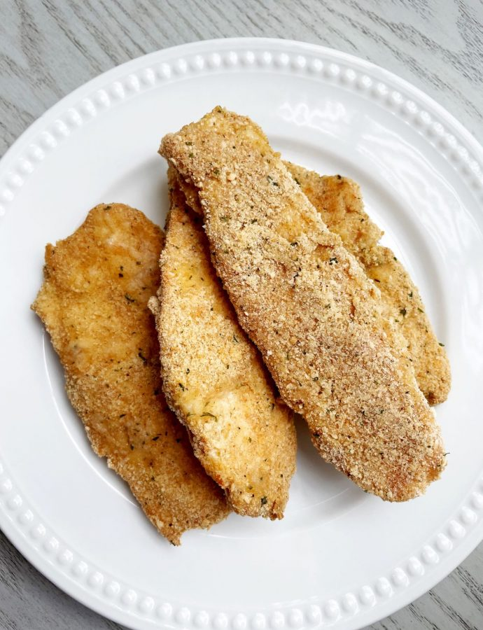 Easy Homemade Chicken Tenders