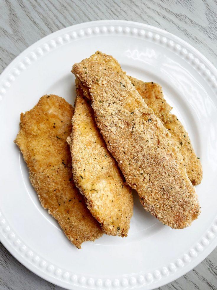 homemade chicken tenders