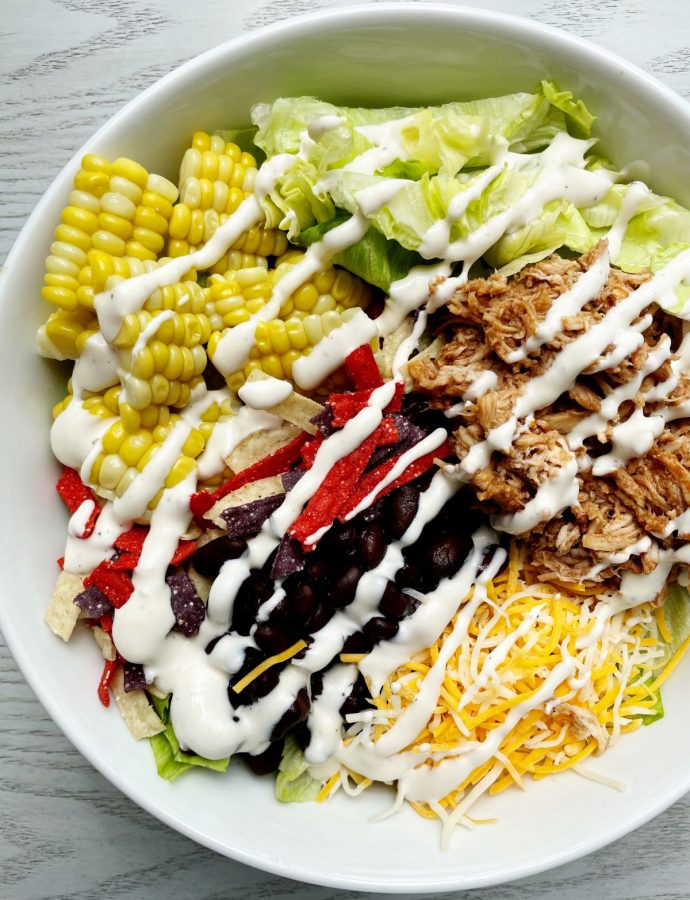 Quick and Easy BBQ Chicken Salad