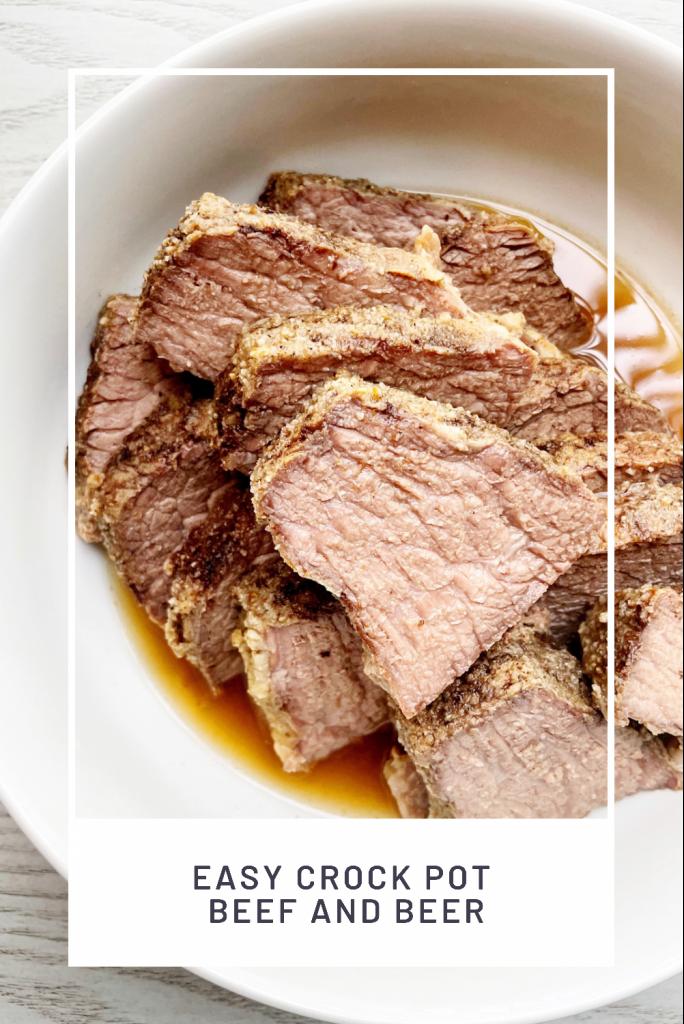 easy crock pot beef and beer