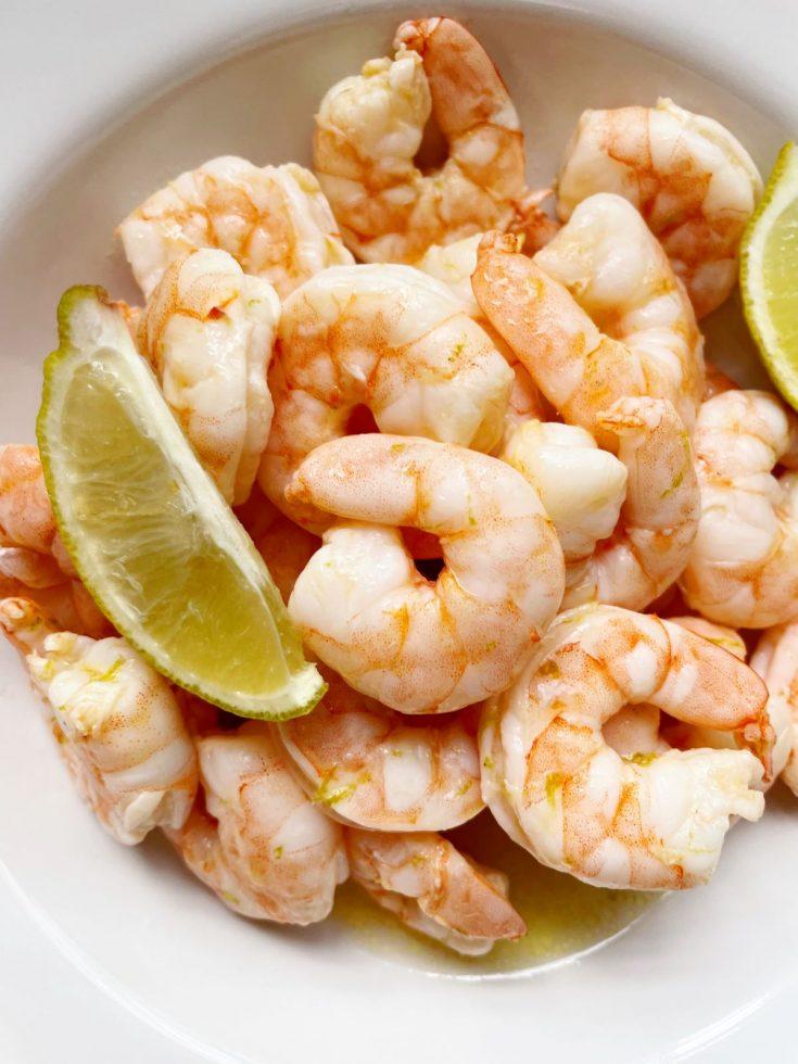 oven baked zesty lime shrimp